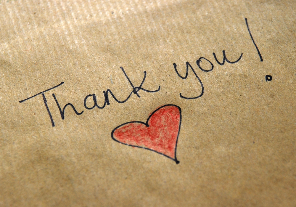 How to thank your Facebook Fundraisers